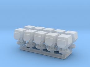 10 ventilation heads_typ1 - 10 Lüfterköpfe in Smooth Fine Detail Plastic: 1:50