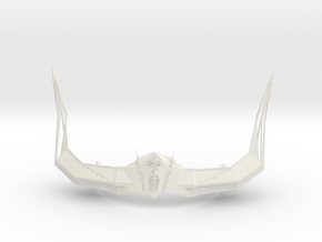 Crown of Horns in White Natural Versatile Plastic