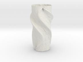 Vase 83514 in White Natural Versatile Plastic