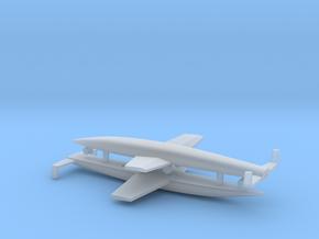 (1:700) Sanger Silbervogel x2 in Smooth Fine Detail Plastic