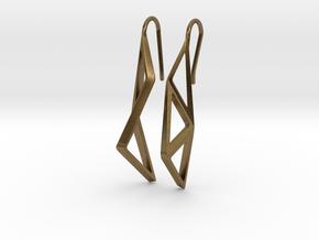sWINGS Structura Earrings in Natural Bronze