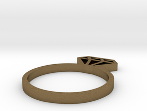 You're a Gem Ring in Natural Bronze: 8 / 56.75