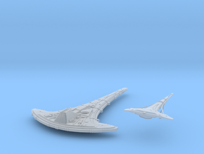 Destiny and Seed ship armada scale in Smooth Fine Detail Plastic