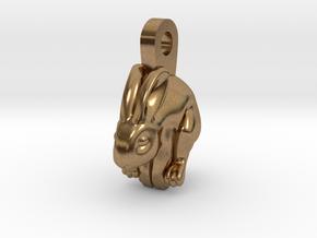 Bunny Earhanger in Natural Brass