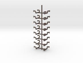 1/35 DKM UBoot Ladders Set x16 in Polished Bronzed Silver Steel