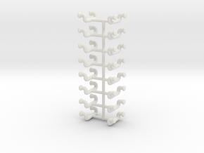 1/48 DKM UBoot Ladders Set x16 in White Natural Versatile Plastic