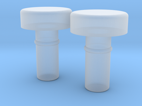 Hands Bump Connector for Minifigures in Smooth Fine Detail Plastic