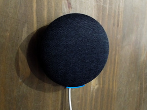 Google Home Mini Small Wall Mount in Blue Processed Versatile Plastic
