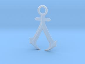 New England Assassins Emblem in Smooth Fine Detail Plastic