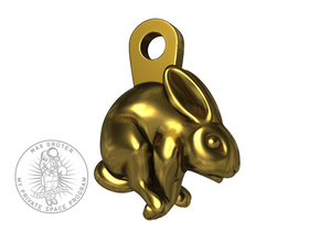 Bunny Earhanger in Polished Bronze