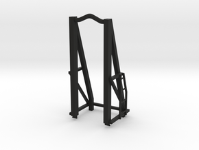 1 50  - 10 FT Top Swinging box lead in Black Natural Versatile Plastic