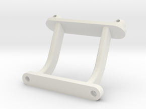 losi xxt front body mount in White Natural Versatile Plastic
