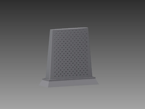RBU water cooled blast deflector 1/96 in Smooth Fine Detail Plastic