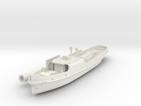 British steam tug Simla 1898 1:200 in White Natural Versatile Plastic