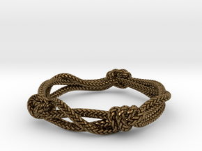 Rope ring in Natural Bronze: 5 / 49