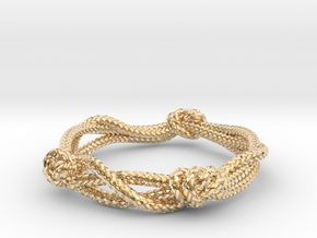 Rope ring in 14K Yellow Gold: 5 / 49