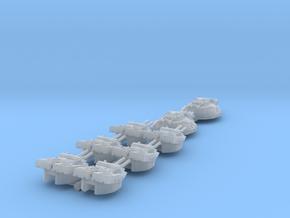 STAR DESTROYER REBELL 1/4000 DEVASTATOR TURRETS in Smooth Fine Detail Plastic