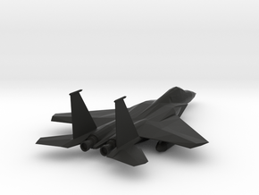 F-15_Simple Aircraft Toy in Black Premium Strong & Flexible: Medium