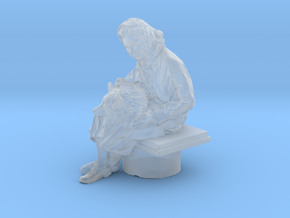 Printle V Femme 1028 - 1/72 - wob in Smooth Fine Detail Plastic