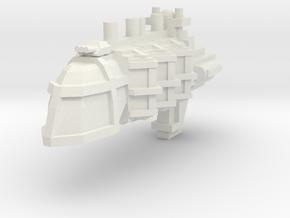 Escolta portaviones in White Natural Versatile Plastic