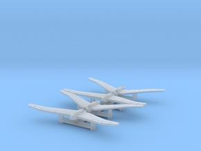 (1:700) (x4) Kayaba Ku-3  in Smooth Fine Detail Plastic