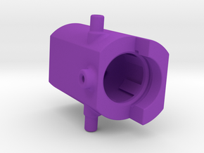 Brushless conversion offcenter inlets in Purple Processed Versatile Plastic