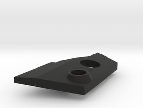 VF-25 Modified Left Shoulder Plate in Black Premium Versatile Plastic