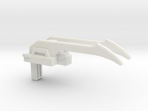 Battle Claw PotP Fist-Plate in White Natural Versatile Plastic: Medium