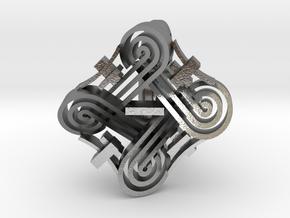 hannunvaakuna Ring in Natural Silver