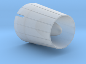 1:700 Scale Yamato Exhaust Nozzle in Smooth Fine Detail Plastic