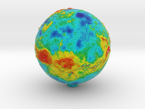 Topographic Venus in Full Color Sandstone