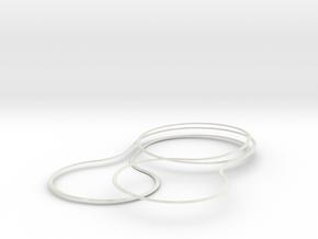 Test Model in White Natural Versatile Plastic