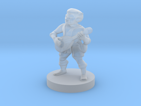 Halfling Bard in Frosted Ultra Detail