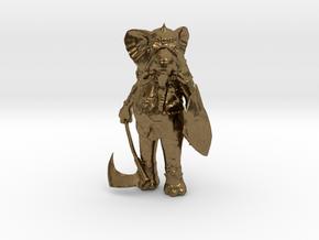 Tusk in Natural Bronze