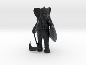 Tusk in Black Hi-Def Acrylate