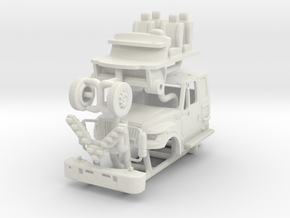 1/64 FDNY Terrastar Rescue Medic Cab in White Natural Versatile Plastic