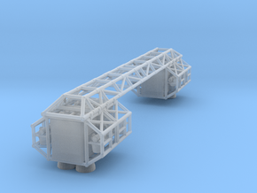 """8"""" Eagle Cage/Frame Assembly (Part #2 for 8"""" Eagle in Smooth Fine Detail Plastic"""