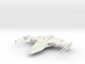Z-15 Starfighter in White Natural Versatile Plastic