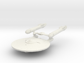 Ranger Class Cruiser in White Natural Versatile Plastic