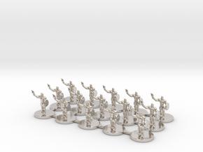 Game of Thrones Risk Pieces - Braavos in Platinum