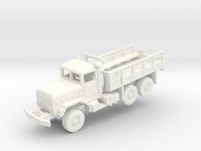 M923 5t Cargo Truck in White Processed Versatile Plastic: 1:200
