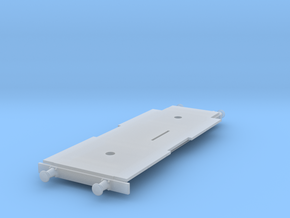 F-vaunun runko Kleinbahnin pyörästöjä varten. in Smooth Fine Detail Plastic