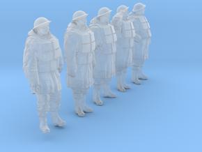 1/24 Royal Navy D-Coat+Lifevst Set203-1 in Smooth Fine Detail Plastic