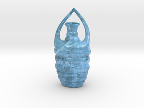 Vase B021908 in Glossy Full Color Sandstone