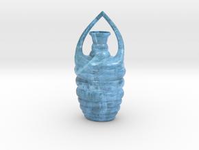 Vase B021908 in Glossy Full Color Sandstone