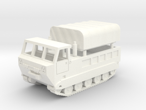 M-548 Cargo Carrier in White Processed Versatile Plastic: 1:200