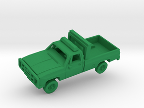 "M1008 CUCV ""Follow-Me"" Truck in Green Processed Versatile Plastic: 1:200"