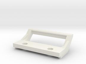 Yokomo YD2 SX Rear Bumper Diffusor Handle Grip in White Natural Versatile Plastic