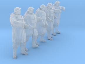 1/30 Royal Navy D-Coat+Lifevst Set203-3 in Smooth Fine Detail Plastic