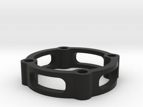 Spacer 20  in Black Natural Versatile Plastic